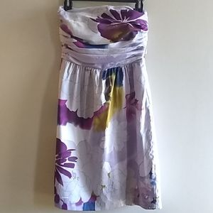 limited cocktail strapless dress size 4